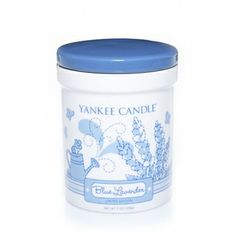 Blue Lavender : Dream Garden Ceramic Crock Candle : Yankee Candle