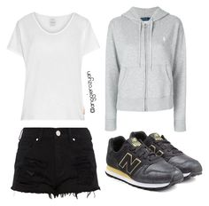"""Sporty fashion"" by anggierozyan on Polyvore featuring Polo Ralph Lauren, Visvim and New Balance"