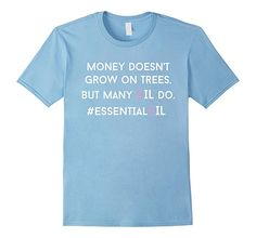 Mens Funny essential oil quote, essential oil for young living 2XL Baby Blue