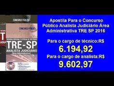 Apostila Concurso Público Analista Judiciário Área Administrativa | TRE SP 2016 | | Afiliado Digital Online