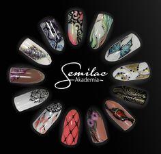 #artnails #nails #semilac #atumn #trends
