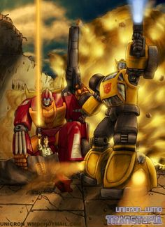 Hot Rod & Bumblebee