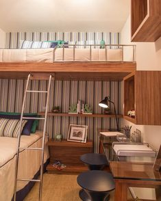 Fine Quarto Decorado Beliche that you must know, Youre in good company if you?re looking for Quarto Decorado Beliche Bunk Bed Rooms, Bunk Bed With Desk, Bedrooms, Modern Bunk Beds, Cool Bunk Beds, Small Rooms, Small Spaces, Bunk Bed Designs, Built In Desk