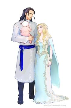 Turgon and Elenwë
