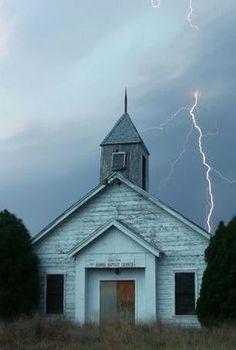 Church In A Strom