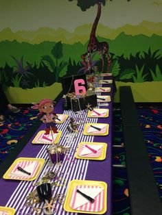 """Photo 4 of Jake and the neverland pirates girl party / Birthday """"Emmerson's Pirate Party"""" Tangled Birthday, Pirate Birthday, Third Birthday, 3rd Birthday Parties, Birthday Ideas, Princess Birthday, Happy Birthday, Pirate Party Decorations, Kids Party Themes"""