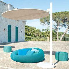 Moderne Récamiere / Stoff / Polyester / Garten EASE By Francesco Rota PAOLA  LENTI