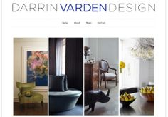 Website Design for Darrin Varden Design by JanMacBrands.