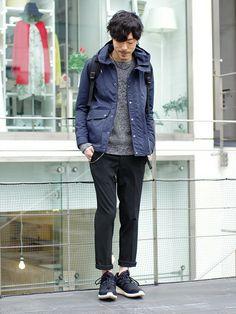 LOUNGE LIZARDのマウンテンパーカー「NYLON GROSGRAN マウンテンパーカー」を使ったSessionLoungeLizard(LOUNGE LIZARD)のコーディネートです。WEARはモデル・俳優・ショップスタッフなどの着こなしをチェックできるファッションコーディネートサイトです。
