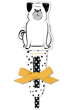Playful Pets Collection by Lady Jayne: Sitting Dog Sticky Pad with Pen Sticky Pads, Dog Lovers, Play, Dogs, Gifts, Collection, Presents, Pet Dogs, Doggies