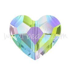 Swarovski 5741 Love bead crystal paradise shine 12mm (1)
