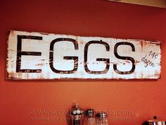 It's no secret that I love distressed items. Making something look vintage or distressed really isn't that hard, but starting with the right surface can make all the difference in the world. This distressed egg sign was made by using an old grainy piece of wood. The plank itself had a lot of raised grains,Read More »