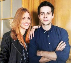 Dylan O'Brien and Holland Roden