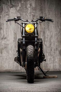 Suzuki GSX 1200 Inazuma Brat Style by Svako Garage #motorcycles #bratstyle #motos | caferacerpasion.com