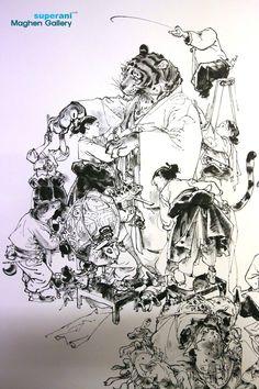 Kim Jung Gi Sketch Collection, News, and More! Character Illustration, Illustration Art, Junggi Kim, Art Sketches, Art Drawings, Reference Manga, Robot Concept Art, Kim Jung, Korean Art