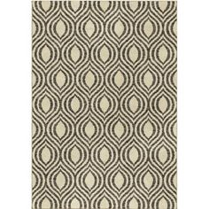 ThresholdTM Arden Fleece Rug Ivory And Brown Geometric Great For Creating Interest Without Masculine Living