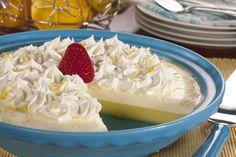Crustless Lemon Cream Pie   EverydayDiabeticRecipes.com