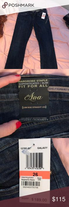 NWT citizens of humanity jeans brand new never worn before citizen of humanity jeans Citizens Of Humanity Jeans Straight Leg