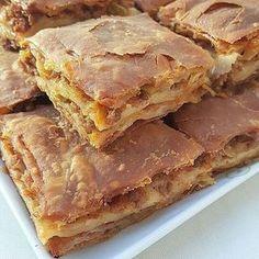 """1,756 Beğenme, 10 Yorum - Instagram'da Marka tanıtımı ve Reklam DM (@yemekrium): """"Tebrikler & Congratulations @gulaymutfakta Kiymali Tepsi Böreği malzemeler: 1 çay bardağı süt…"""" Pastry Recipes, Meat Recipes, Wine Recipes, Cooking Recipes, Russian Recipes, Turkish Recipes, Cookie Brownie Bars, Good Food, Yummy Food"""