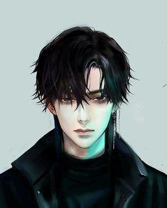 Anime Boys, Dark Anime Guys, M Anime, Cool Anime Guys, Handsome Anime Guys, Hot Anime Boy, Chica Anime Manga, Anime Art, Anime Boy Hair