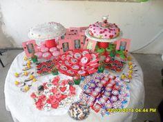 mesa dulce y candy bar vaquita de san antonio/mariquita