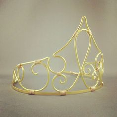 Aurora - Sleeping Beauty Crown Fairy Tale Tiara Aurora Costume - Made... ($50) via Polyvore featuring accessories, crowns, jewelry, tiaras and hair accessories