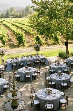Wedding, Reception, Purple, Vineyard - Photo by Richard Wood Photographics - Project Wedding