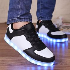 Lights Up Led Luminous  Colour Splicing Casual Shoes #>=#>=#>=#>=#> Click on the pin to check out discount price, color, size, shipping, etc. Save and like it!