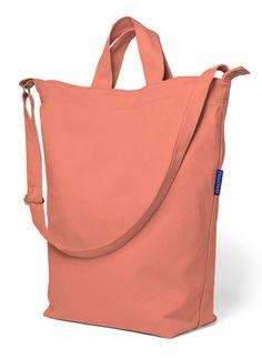BAGGU coral canvas duck bag #beach