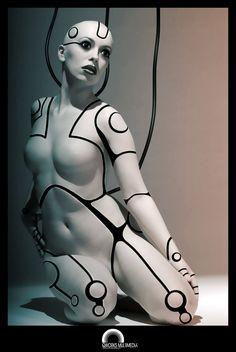 30 Sexy and Futuristic Cyborg Artworks « Stockvault.net Blog – Design and Photography