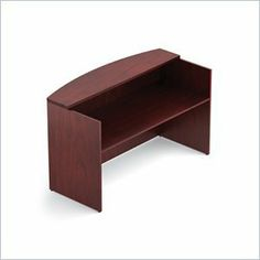 "Offices To Go 72"""" Reception Desk Shell in Cordovan by Offices To Go. $1069.95. Offices To Go is proud to offer exceptional comfort and style while maintaining a value conscious approach to seating.Many Offices To Go chairs have scuff resistant arched molded bases with matching casters, impact resistant outer back shells, adjustable height arms and headrests.All Offices To Go seating models come with easy-to-follow assembly instructions with detailed photographs making prod..."