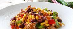 Chili con Carne mit Reishütchen | Fleischgerichte zum Abnehmen von Almased