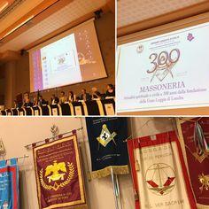 """Perugia, 20 giugno 2017. Convegno storico culturale per i 300 anni della Massoneria, Stefano Bisi (Gran Maestro del Grande Oriente d'Italia): """"oltre i pregiudizi, noi cerchiamo di costruire solo ponti""""."""