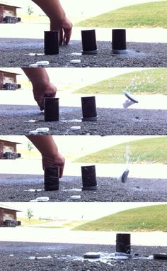Superhero Science: Film Canister Rockets from www.curiouslittlekid.com #preschool #preschoolscience