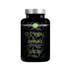 IT'S VITAL OMEGA-3 Boost heart health, fight minor inflammation, keep those joints moving, and reclaim that youthful glow with the triple strength blend of DHA and EPA fatty acids of Omega-3. Along with superior strength, fish oil-derived fatty acids, all in an easy-to-swallow softgel with a hint of lemon flavor. $23 as a loyal customer, join today at www.mrsherrera.myitworks.com or contact me at facebook.com/wrapwithmrsherrera