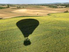 Ombre de la montgolfière Atmosph'Air