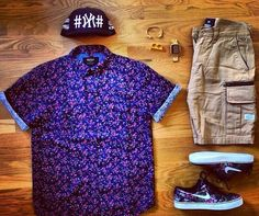 Outfit grid #mensfashion #outfitgrid