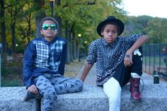 Cool boyswear from @laundrytribe - image credit @tristinandtyler