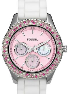 Pink BLING fossil es 2895 #fossilwatch