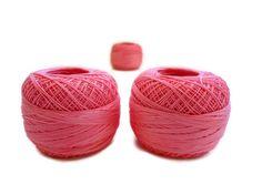 coton yarn 3 balls fine crochet50 number100 by yarnsupplies, $9.00