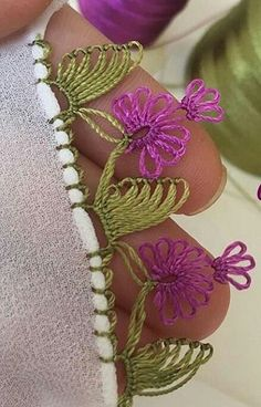 İgne oyasi yazma modelleri Thread Art, Needle And Thread, Crochet Baby Clothes, Needle Lace, Toe Rings, Tatting, Boho Fashion, Needlework, Diy And Crafts