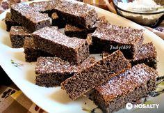 Pehelykönnyű, lisztmentes, bögrés-mákos szelet Sweet Cakes, Sweets, Cookies, Cream, Recipes, Tej, Food, Poppy, Diet