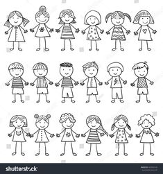 Find Background Image Funny Kids stock images in HD and millions of other royalty-free stock photos, illustrations and vectors in the Shutterstock collection. Thousands of new, high-quality pictures added every day. Art Drawings For Kids, Doodle Drawings, Drawing For Kids, Cartoon Drawings, Easy Drawings, Doodle Art, Fantasy Background, Plains Background, Background Vintage