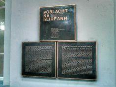 Proclamation, Heuston (Train) Station, Dublin.
