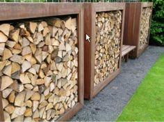 hout tegen schutting