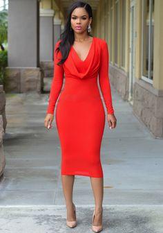 35c621234a Womens Glamorous Long Sleeve Slim Hip Dress