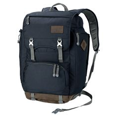 Large, fully equipped daypack with a laptop compartment from the Vintage range - Daypacks - Rucksacks - Equipment - Jack Wolfskin International