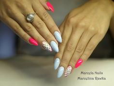 by Marcelina Rawka, Double Tap if you like #mani #nailart #nails Find more Inspiration at www.indigo-nails.com