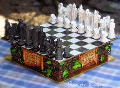 Wizard's Chess Cake=Awesome!