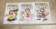 Lot Of 3 Frankly, Frannie: Books by AJ Stern Paperback Book Like New